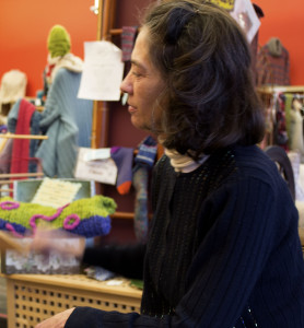 Knit One, crafters find themselves in a woolen paradise. Photo by Audra Joseph