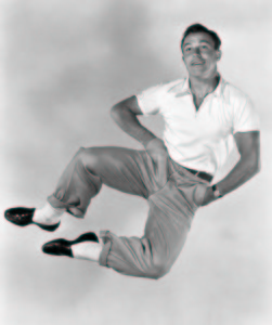 Gene Kelly's dance with immortality started here
