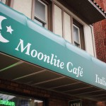 Owner Luciano Defelice opened Moonlite Cafe on Brookline Boulevard in 1997. Photo by Seth Culp-Ressler.