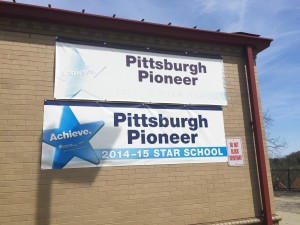 Pittsburgh's Pioneer Education Center, located in Brookline, has been a part of Pittsburgh Public Schools for over 50 years. Photo by Rebekah Devorak.