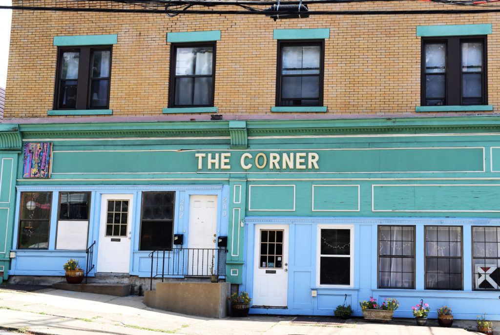 The Corner, located on Robinson Street in Oakland, is a community center that serves the neighborhood's residents in a variety of ways.