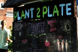 Plant to Plate's success is entirely reliant on the community of Pitt students putting in work.