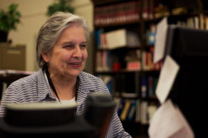 Suzanne Johnston is a genealogist and library assistant at the Carnegie Library in Oakland. Johnston has always been fascinated with stories.